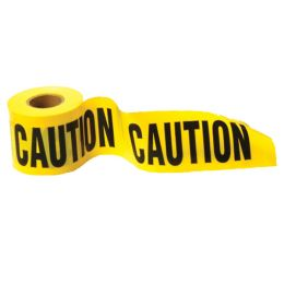 Caution - Barricade Tape