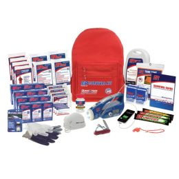 4 Person Deluxe Ultamate Backpack Survival Kit
