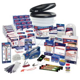 4 Person Deluxe Ultimate Home Survival Kit