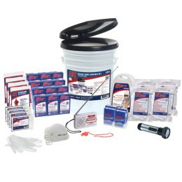 4 Person Deluxe Home Survival Kit